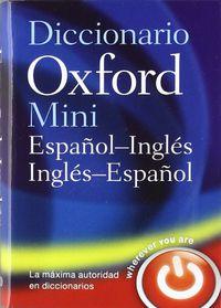 DICC. MINI ESP / ING - ING / ESP (8 ED)