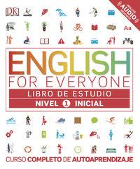 English For Everyone (ed. Esp) Nivel Inicial 1 - Aa. Vv.