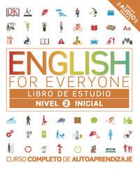 English For Everyone (ed. Esp) Nivel Inicial 2 - Aa. Vv.