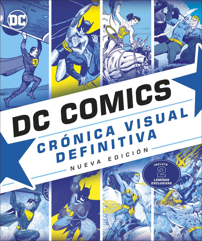 DC COMICS CRONICA VISUAL DEFINITIVA