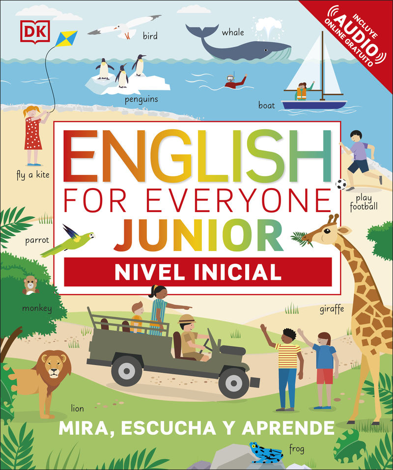 ENGLISH FOR EVERYONE JUNIOR - NIVEL INICIAL