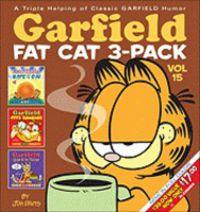 GARFIELD FAT-CAT 3 PACK 15