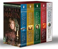 SONG OF ICE AND FIRE, A (VOLUMES 1-5) (BOXSET)