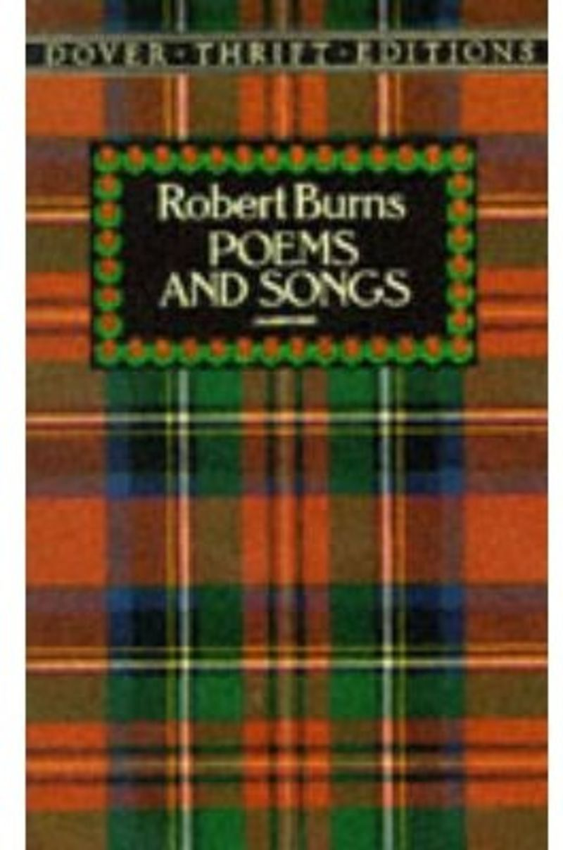 BURNS POEMS AND SONGS
