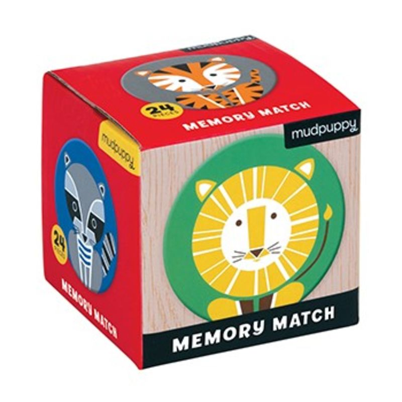 MINI MEMORY GAME GEOMETRIC ANIMALS