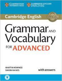 Grammar & Vocabulary For Cae W / Key (+audio-Cd) - Aa. Vv.