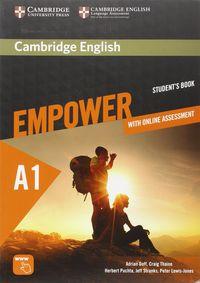 Empower Starter A1 (+online Assessment) - Adrian Doff / Craig Thaine / [ET AL. ]