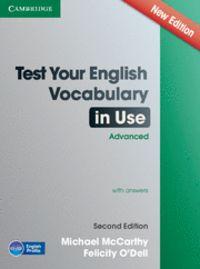 (2 ed) test your english vocabulary in use adv w / key - Michael Mccarthy / Felicity O'dell