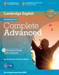 (2 ED) COMPLETE ADVANCED W / KEY (+CD-ROM)