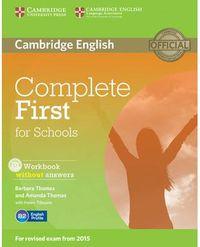 COMPLETE FCE FOR SCHOOLS INTERNATIONAL WB W / O KEY  (2 ED. )