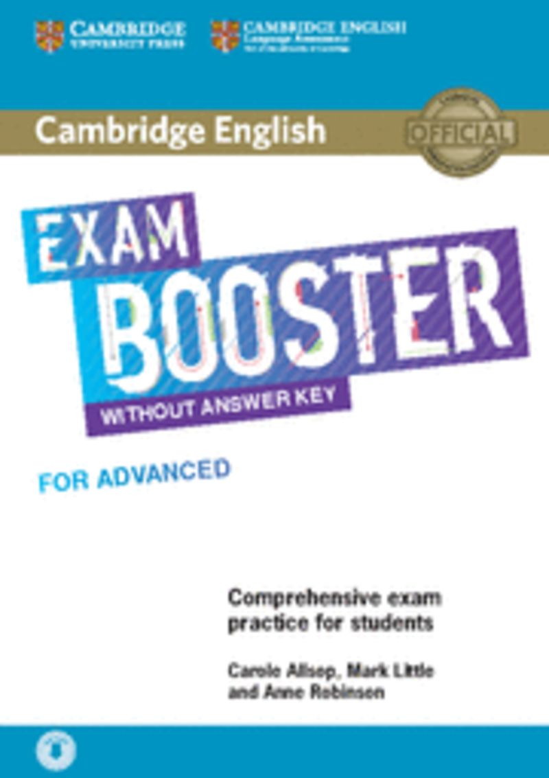 CAMB ENGLISH EXAM BOOSTER FOR ADVANCED (+AUDIO)