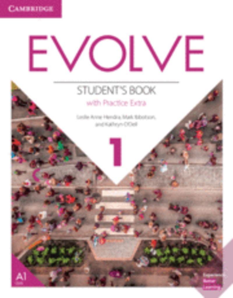 EVOLVE 1 (+PRACTICE EXTRA)