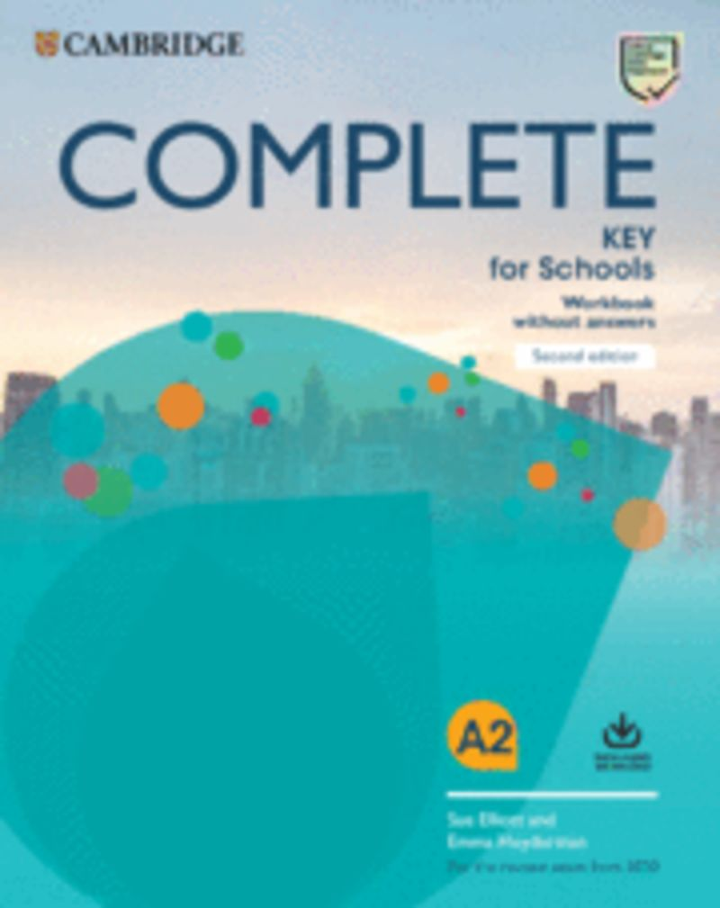 (2 ED) COMPLETE KEY FOR SCHOOLS WB WO / KEY (+AUDIO-DOWNLOAD)