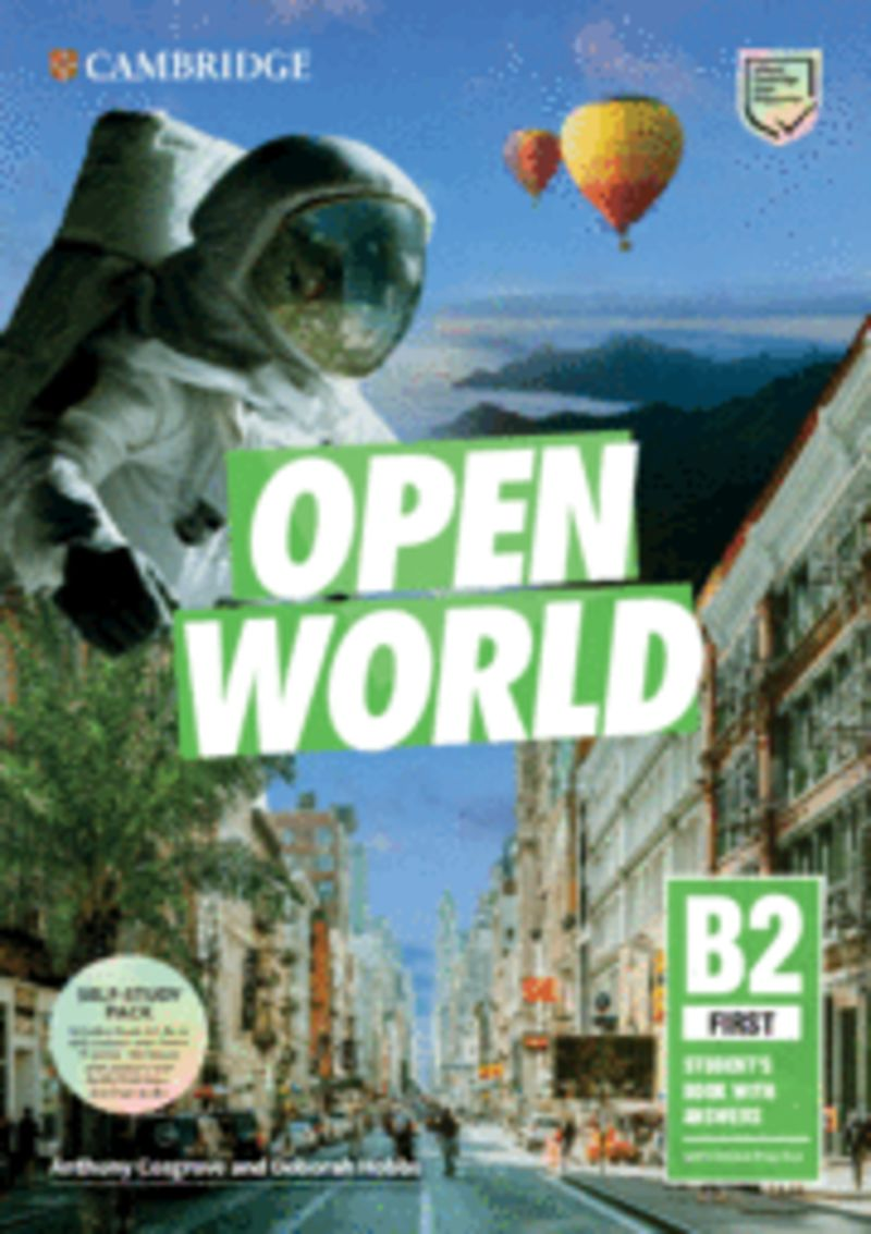 OPEN WORLD FIRST (B2) SELF STUDY PACK