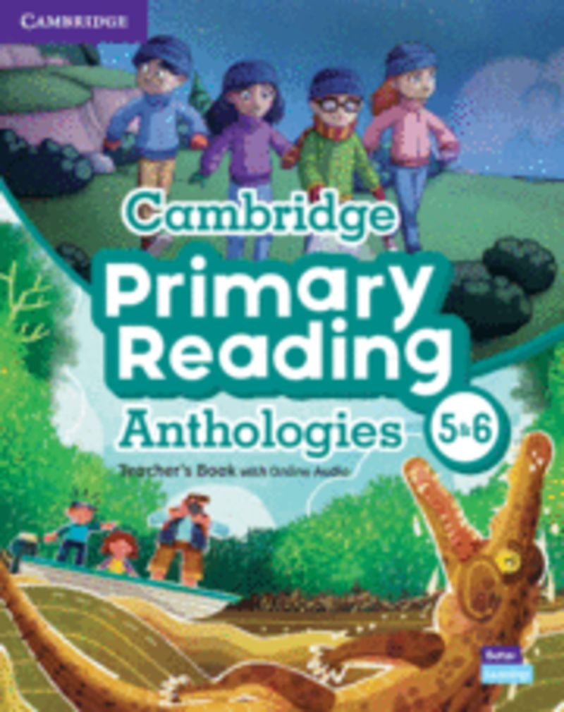 CAMB PRIMARY READING ANTHOLOGIES L5-L6 TCH (+ONLINE AUDIO)