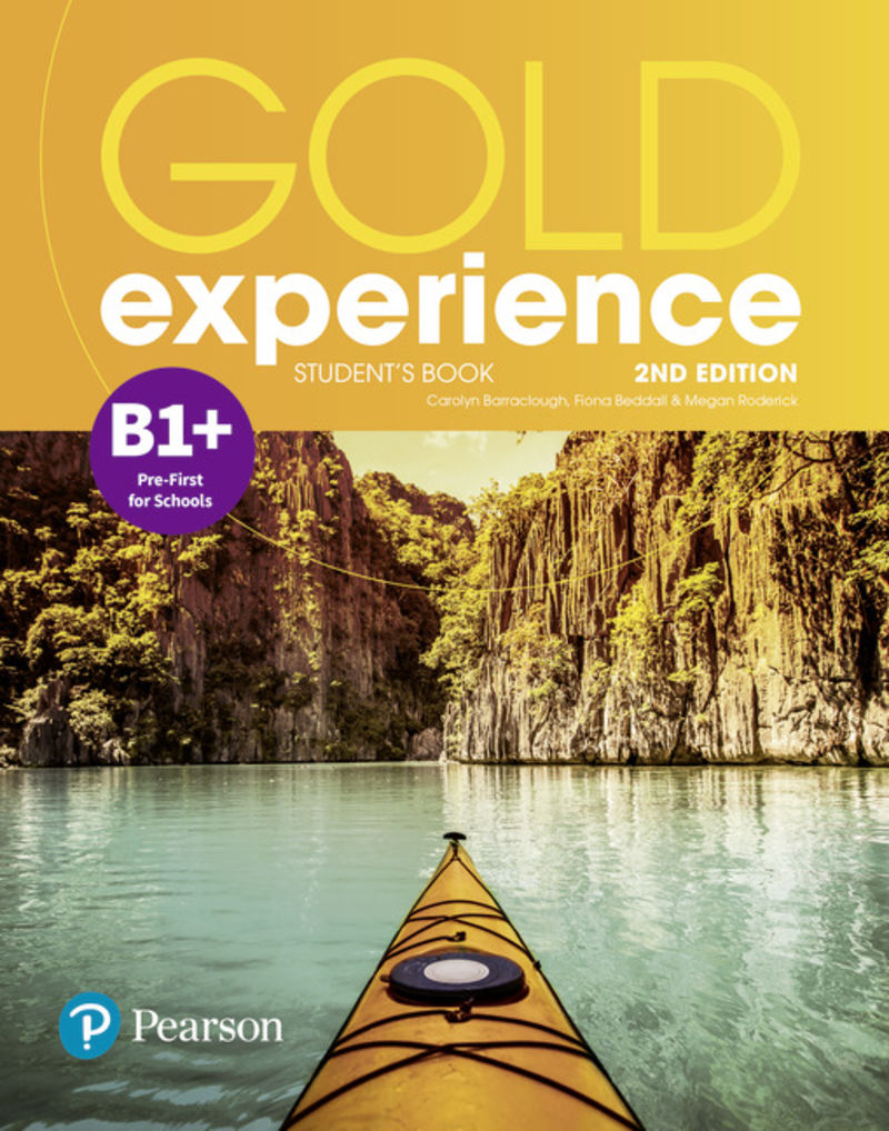 (2 ED) GOLD EXPERIENCE B1+ BOOK