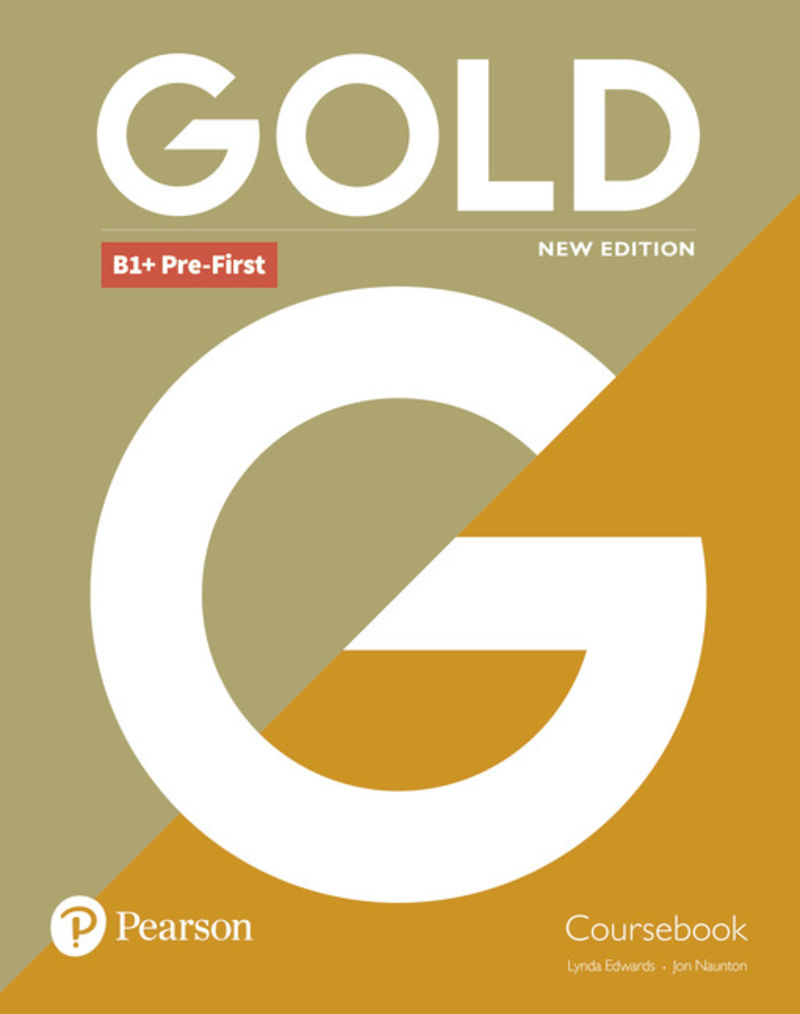 GOLD PRE-FIRST NEW COURSEBOOK
