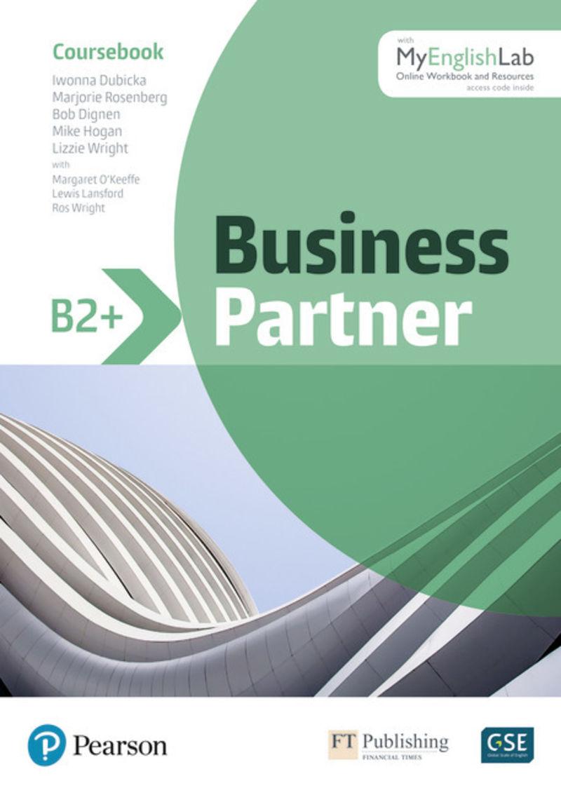 BUSINESS PARTNER B2+ COURSEBOOK AND STANDARD MYENGLISHLAB PACK