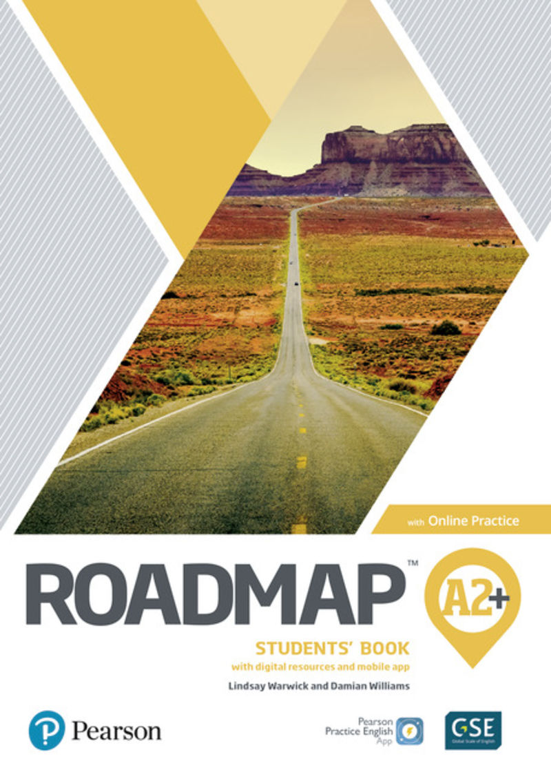 ROADMAP A2+ BOOK AND ONLINE PRACTICE PACK