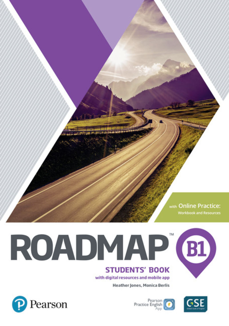 ROADMAP B1 BOOK AND ONLINE PRACTICE PACK