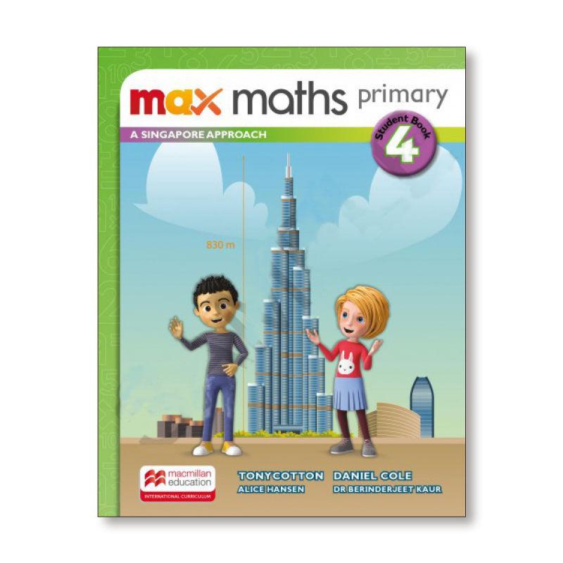 Ep - Max Maths Pri A Sing Appr 4 - Aa. Vv.