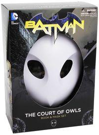 BATMAN COURT OF OWLS MASK BOOK (PAPERBACK)