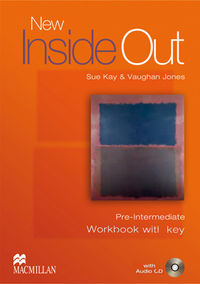NEW INSIDE OUT PRE-INTERM WB W / KEY (PACK)