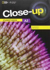 Close-Up A2 (+online) - Aa. Vv.