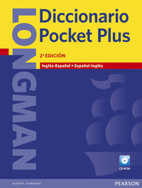 LONGMAN DICT. POCKET PLUS INGLES / ESPAÑOL - ESPAÑOL / INGLES (+CD-ROM)