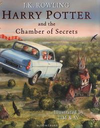 HARRY POTTER AND THE CHAMBER OF SECRETS (ILLUSTRATE)