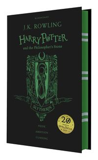 HARRY POTTER AND THE PHILOSOPHER'S STONE (SLYTHERIN ED)