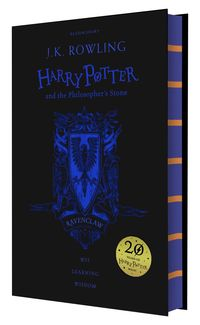 HARRY POTTER AND THE PHILOSOPHER'S STONE (RAVENCLAW ED)