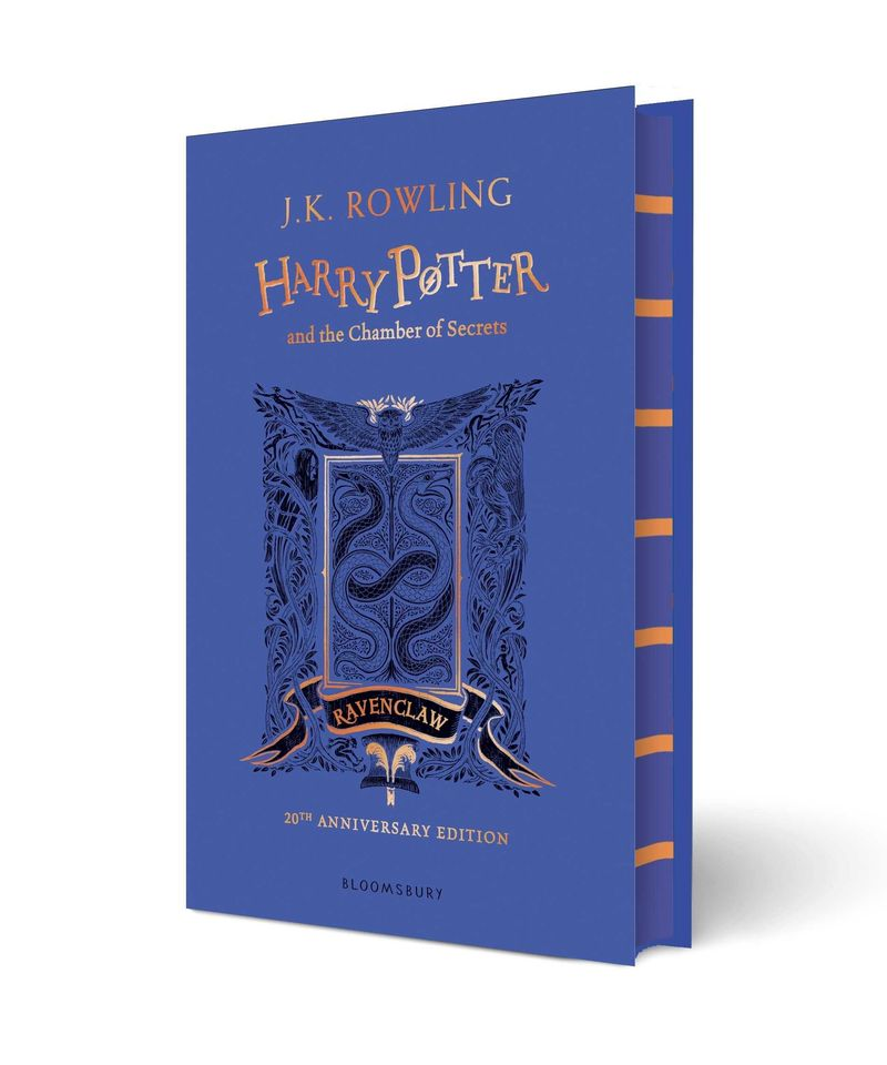 HARRY POTTER AND THE CHAMBER OF SECRETS (RAVENCLAW ED)