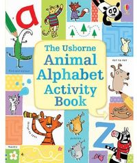 ANIMAL ALPHABERT ACTIVITY BOOK