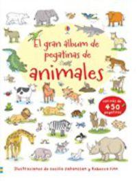 GRAN ALBUM DE PEGATINAS DE ANIMALES, EL