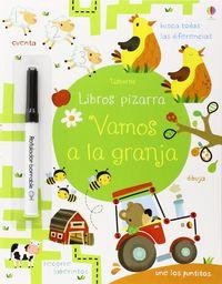 Vamos A La Granja - Libros Pizarra (+rotulador) - Kirsteen Robson / Maria Neradova