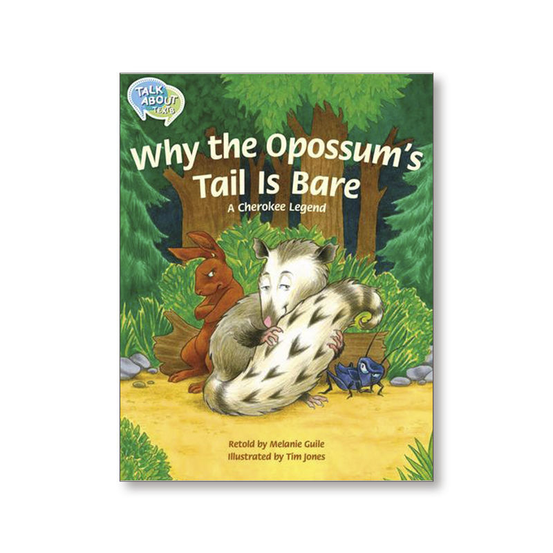 TA L17 WHY THE OPOSSUM'S TAIL IS BARE