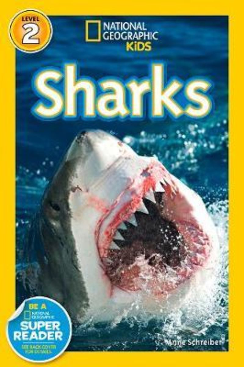 NATIONAL GEOGRAPHIC KIDS READERS - SHARKS!