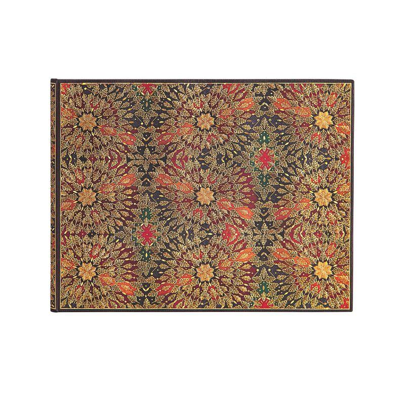 Libreta Flores Incandescentes Libro De Visitas Liso 144pag. -