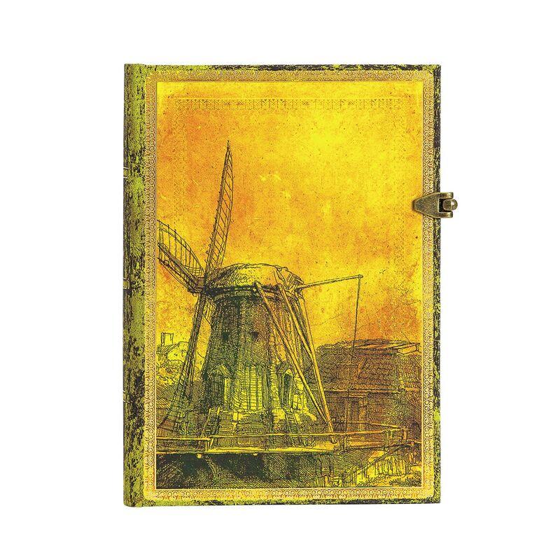 Libreta 350 Aniversario De Rembrandt Midi Rayado -