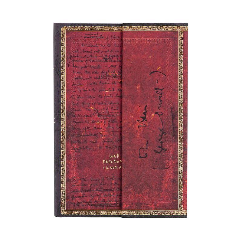 Libreta Orwell 1984 Mini Rayado -