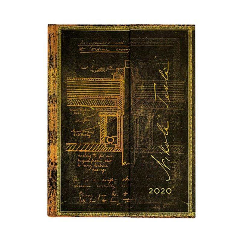 2020 * AGENDA TESLA BOSQUEJO DE UNA TURBINA ULTRA S / V