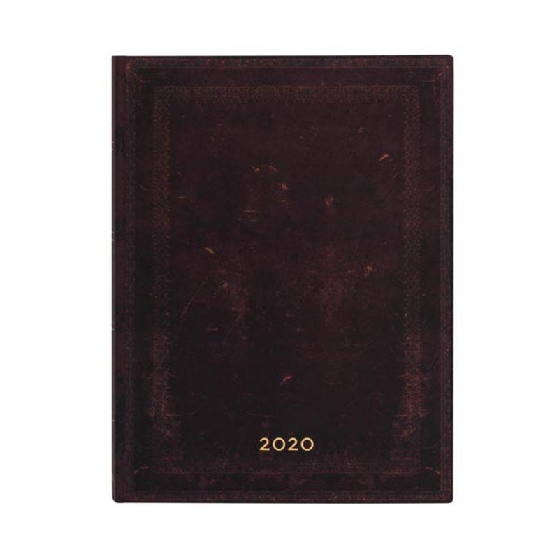 2020 * AGENDA FLEXI MARRUECOS NEGRO LISO ULTRA D / P