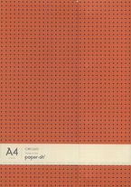 Oh * Libreta A4 Horiz. Circulo Naranja / Gris -