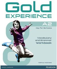 GOLD EXPERIENCE A2 GRAMM & VOCABULARY WB