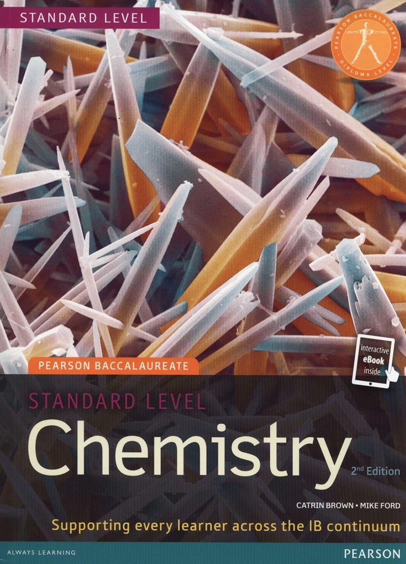 (2 ED) PEARSON BACCALAUREATE CHEMISTRY STANDARD LEVEL (+EBOOK)