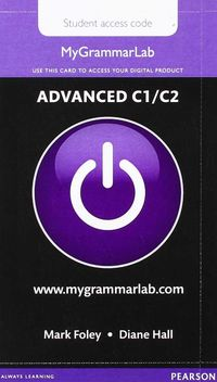 MYGRAMMARLAB ADV MYLAB ONLY ACCESS CARD