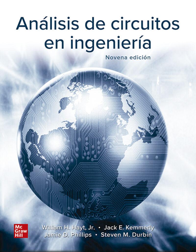 Bundle Cnct Analisis De Circuitos En Ingenieria - William Hayt / J. Kemmerly / [ET AL. ]