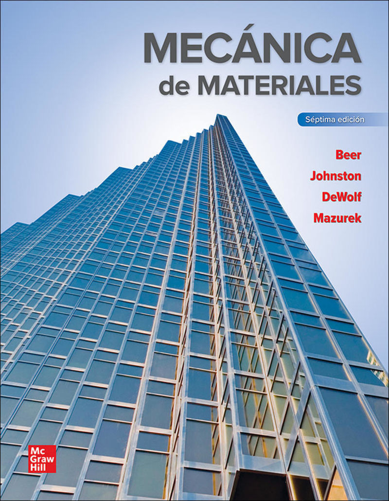 (7 ED) MECANICA DE MATERIALES (+CONNECT)