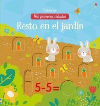 RESTO EN EL JARDIN - MIS PRIMEROS CALCULOS